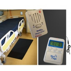 HEAVY DUTY NON-SLIP FLOOR PRESSURE MAT ALARM KIT FMAT-2K