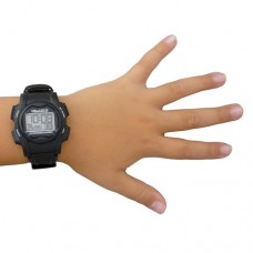 Vibralite 8 Watch – Black Vibrating Wristwatch Alarm