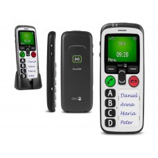 Doro Secure 580IUP Man down lone worker phone with GPS and SOS emergency calling