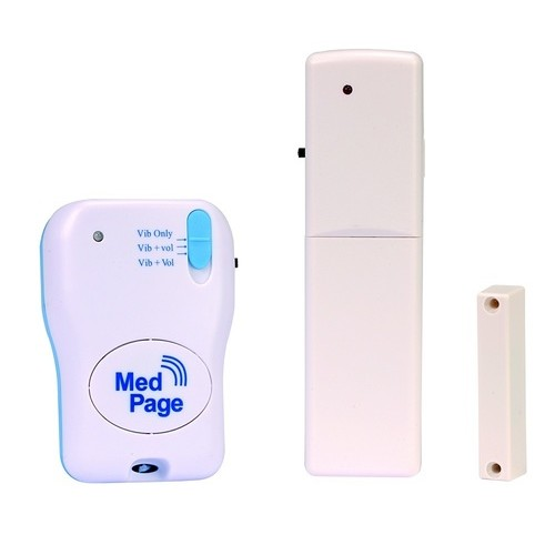 Wireless Door Security Alarm With Radio Pager Mppl Dckit