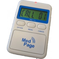 PAG-11c ALARM PAGER WITH LCD CALLER DISPLAY